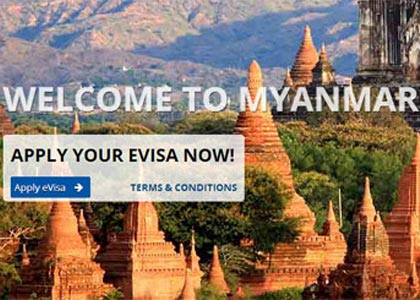 Myanmar to issue e-visa for tourists starting Sept 1